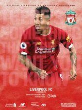Liverpool v Arsenal 2019/20 ~ Premier League Programme 24/8/19 ~ Pre Order
