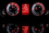 Audi A4 B8 Audi Q5 Custom style conversion tacho dials illumination tachoscheibe