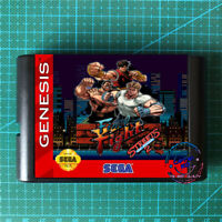 Final Fight in Street Of Rage 2 Sega Genesis MegaDrive USA version