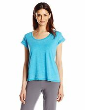 NEW Honeydew Intimates Women's Lounge-About Jersey Tee Blouse Shirt, Wave, XL