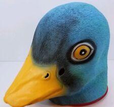 Mallard Duck Mask Deluxe Full Face Head Bird Latex Rubber Animal Costume