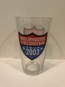 Bruce Springsteen & The E Street Band Tour 2003 Pint Glass