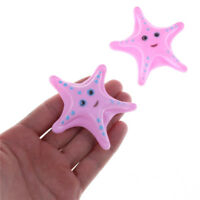 2X Childs Kids Water Starfish Floating Bath Time Fun Toys Education Toys Pink wv