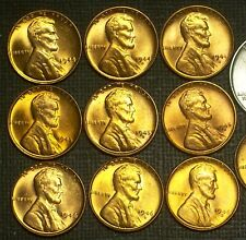 1944 thru 1946-P,D,S (9) CENTS BU SHORT SET - SOLID COINS - WITH NICE DETAILS