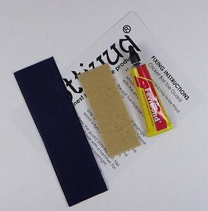 Opttiuuq Cricket Bat Repair Kit 1 Toe Guard Set Glue Fixing Guide -1- Navy