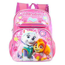 "New Arrive Paw Patrol Girls Pink Pup Power! 16"" Backpack"