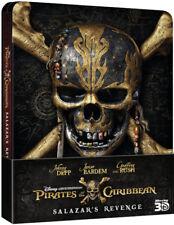 Pirates of the Caribbean: Salazar's Revenge:Ld Edition steelbook (Blu-ray 3D/2D)