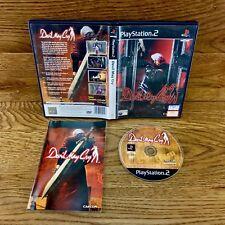 PlayStation 2 DEVIL MAY CRY PS2 jeu vidéo complet très bon état parfait disc PAL 15+