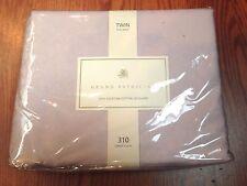 Grand Patrician Twin Flat Sheet Floral Set 100% Egyptian Cotton 310TC - Lavender