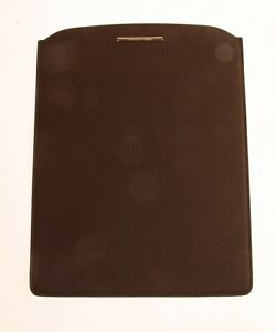 ERMENEGILDO ZEGNA Leather Case Sleeve for iPAD and other Tablets MADE IN ITALY