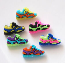 Fun Run Buttons / Colorful Sneakers / Dress It Up Buttons by Jesse James # 6958