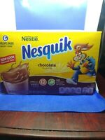 Nestle Nesquik Chocolate Flavor Powder Mix lot of 2 V1
