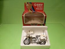 POLISTIL MS609 BMW R75/5 - POLIZEI  POLICE - WHITE 1:15 - GOOD CONDITION IN BOX