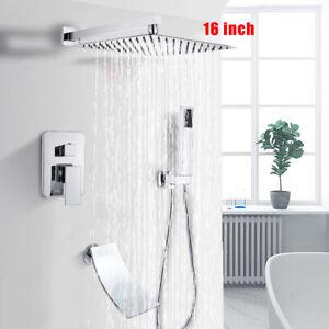 Regendusche Kopfbrause Unterputz Duschsystem Decke Installieren Luxus Duschset