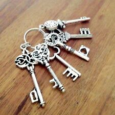 Deko-Schlüsselbund Schlüssel Silber Landhaus Shabby chic Nostalgie Antik