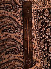 Porte encens en bois artisanat d'Inde décoration antique