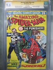 Amazing Spider-Man #129 CGC 9.6 SS **Signed Romita & Stan Lee** 1st Punisher