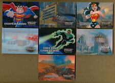 Justice League Lenticular Motion Chase Insert Set