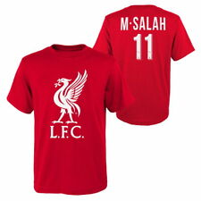 MOHAMED SALAH LIVERPOOL YOUTH NAME & NUMBER T-SHIRT OFFICIALLY LICENSED