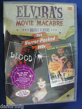 Elvira's Movie Macabre - Legacy of Blood / The Devil's Wedding Night DVD 2006