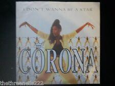 """VINYL 12"""" SINGLE - I DON'T WANNA BE A STAR - CORONA - WEA029T"""