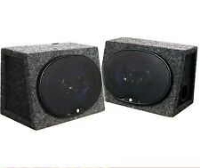 "CSB69 AUDIOPIPE DUAL 6""x9"" 250 Watt Speakers & Boxs Combo"