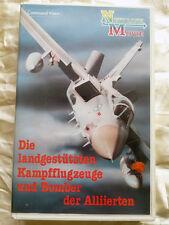Die Landgestützten Kampfflugzeuge und Bomber der Alliierten New Line Movie VHS x