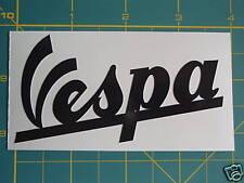 VESPA Piaggio Negro script Pegatina GS, PX, GL, LML