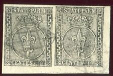 Francobolli italiani foglio usati