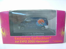 Herpa 1/87 H0 Exclusive Collection EXPO 2000 Mercedes Benz Vito OVP B404