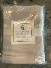 Pottery Barn Kids Open Weave Under Bed Basket Liner in Natural New