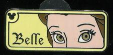 WDW Hidden Mickey 2007 2 Rear View Mirror Belle Disney Pin 58972