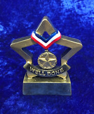 Well Done Solid Resin School Trophy Award Competition Event FREE engraving