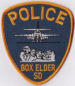 Box Elder Police Patch South Dakota SD