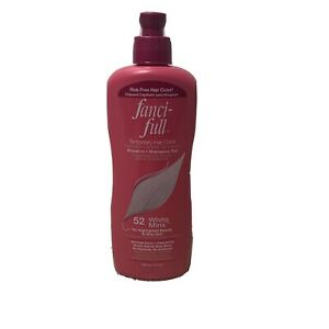 Fanci-Full Rinse In Shampoo Out Temporary Hair Color 52 WHITE MINX - 9 oz