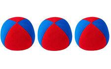 3 X  Henrys Jonglierball Bean Bag Superior medium 67 mm ROT-BLAU