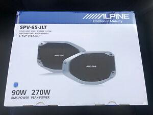 Alpine SPV-65-JLT Rear Soundbar Speakers 2018+ Jeep Wrangler & 2020+ Gladiator