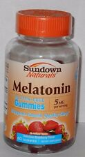 Sundown Naturals Melatonin Gummies 5mg Gluten Free 60ct