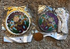Endymion 50 Anniversary Light Up Medallions & Doubloon Mardi Gras New Orleans