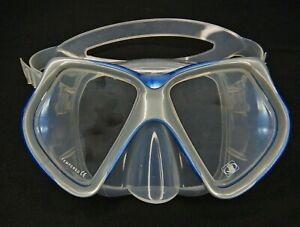 Body Glove Snorkel Mask Adult Water Swimming Googles Scuba Diving Tempered Glass