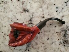 Vintage Sir Walter Raleigh Hand Carved Made in Israel Pipe RARE Collectible