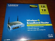 Linksys WRT54GL 54 Mbps Wireless-G WiFi Router ORIGINAL PACKAGE USED VERY LITTL