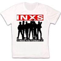 Inxs Need You Tonight Single Kick Michael Hutchense Rock Retro Unisex T Shirt 58
