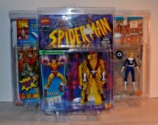 Spiderman X-Men Avengers Protech Action Figure Protective Case ONLY LOT of 3
