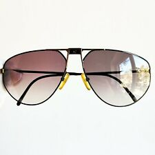 occhiali da sole CARRERA 5410 drop sun sunglasses a goccia gold black vintage 90