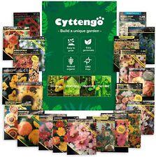 Wohous 26800+ Heirloom Flower Seeds 20 Varieties of Flower Seeds Packets Non-Gmo