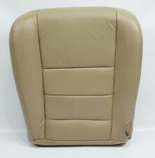 02 03 04 05 06 07 Ford F250 F350 Lariat Driver Bottom Seat Cover Tan Color Vinyl