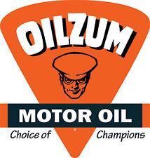 Oilzum Motor Oil Vinyl Decal / Sticker ** 5 Sizes **