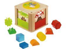 Haba 301701 Sortierbox Zootiere Tiere Bausteine Bauklötze Zoo Tiere Neu & Ovp