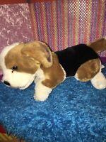 "VGUC-14"" E&J Classic BEAGLE Dog Plush Realistic Prima Collection Stuffed Toy"